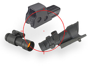 Reflex Sights, Holosights, Scopes
